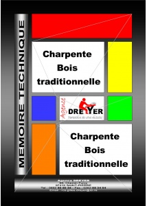 mémoire technique charpente bois traditionnelle