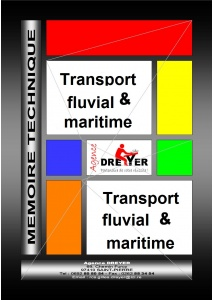 mémoire technique transport fluvial et maritime